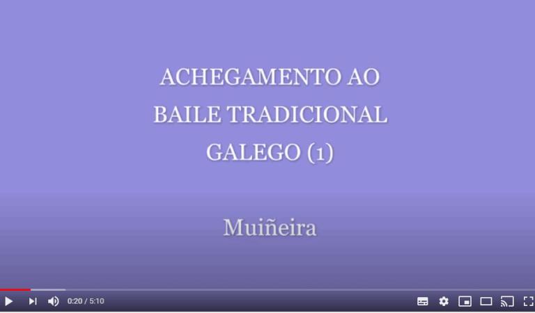 Achegamento ao baile tradicional galego 1 – Muiñeira