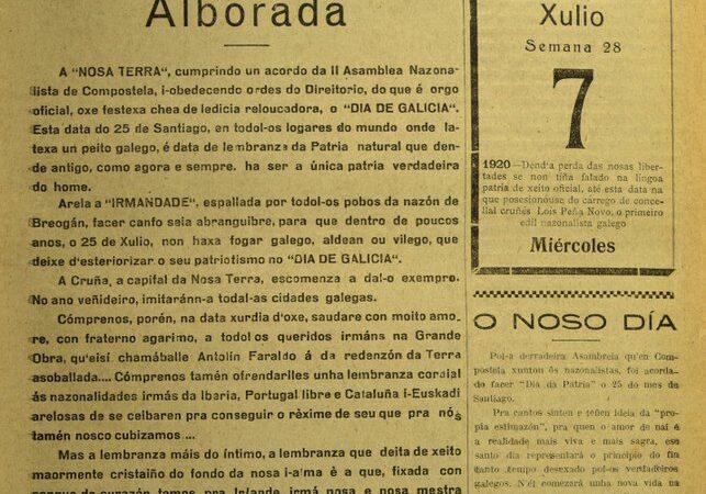 As orixes do Día de Galicia